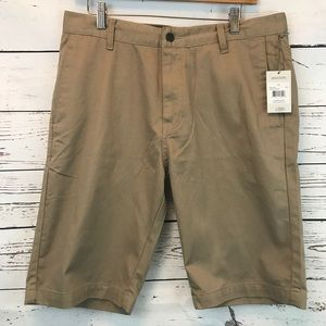 Volcom Vmonty Modern Fit  Flat Front Casual Shorts